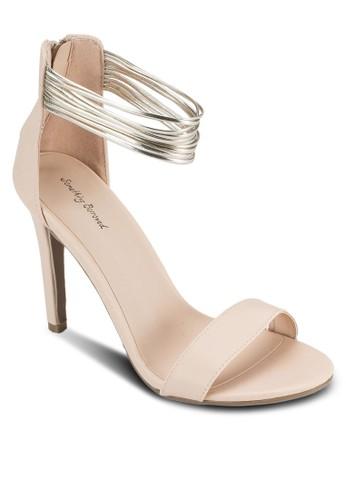 多帶繞esprit 台中踝高跟涼鞋, 女鞋, 鞋