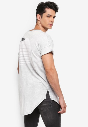 Factorie grey Shaded Curved Cap Tee 13518AA16D1976GS_1