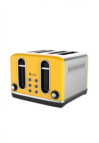 Odette yellow Streamline Series 4-Slice Bread Toaster (Yellow) EB793HL0692025GS_1