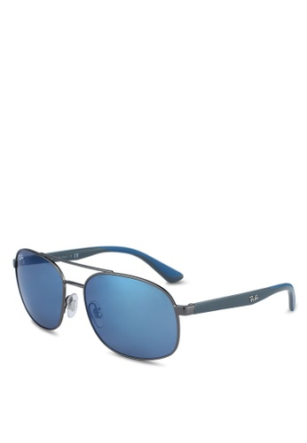 Ray-Ban grey RB3593 Sunglasses CE6E6GL2A7EAB6GS_1
