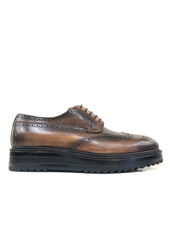 Giorostan brown Men Casual Shoes 70AC2SH123C9A6GS_1