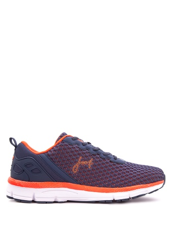 Jump orange and navy JM-15-2003 Sneakers JU701SH94VOBPH_1
