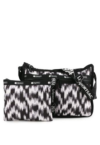 LeSportsac black Deluxe Everyday Bag E1DDCAC839E3F0GS_1