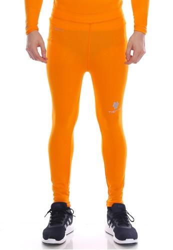 Jual Tiento Tiento Man Long Pants Orange Celana Legging Pria Olahraga Renang Sepakbola Lari Original Original Zalora Indonesia