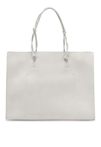 nose grey Shopper Bag 3E060AC5DBDAEFGS_1