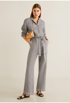 3821a7f6648 20% OFF MANGO Long Linen-Blend Jumpsuit S  129.00 NOW S  102.90 Sizes XS S  M L