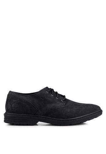 Timberland black Sawyer Lane Waterproof Oxford Shoes 668FASH11AD8E6GS_1