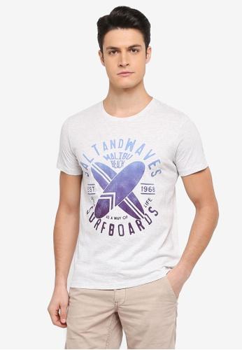 ESPRIT white Short Sleeve T-Shirt 6673BAA8146CF3GS_1