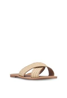 76017b4df1f32 Rubi Everyday Scarlett Crossover Slides S  19.95. Available in several sizes