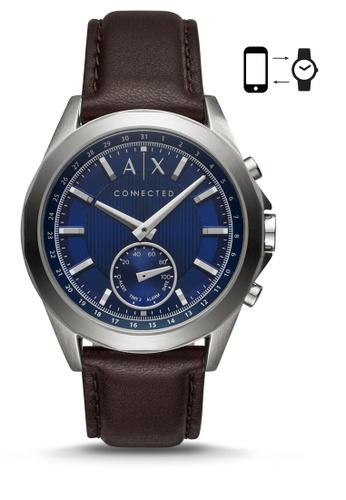 Armani Exchange brown Armani Exchange Drexler Smart Watch AXT1010 4D4C1AC6EA1755GS_1