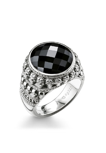 "Thomas Sabo black Ring ""skull"" TH376AC0GMVBSG_1"