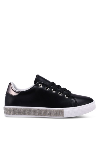 Nose 黑色 鑽飾運動鞋 BC744SH767F89CGS_1