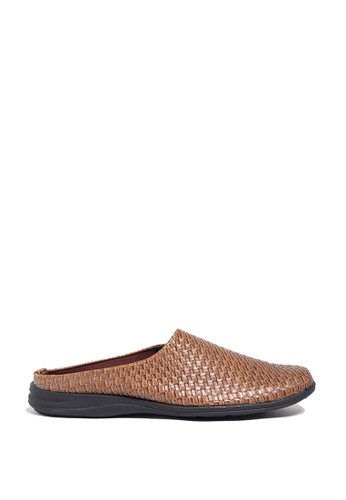 Dr. Kevin brown Dr. Kevin Mens Bustong Sandals 1645 - Brown DR982SH0US9VID_1