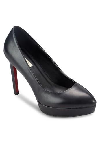 尖頭厚底高跟esprit台灣鞋, 女鞋, 厚底高跟鞋