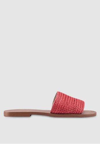 Banana Republic 紅色 Woven Sliders EF6C9SH3717983GS_1