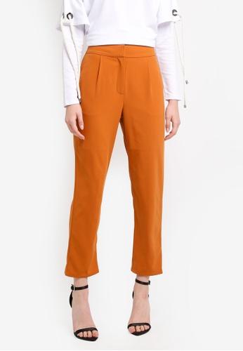 Zalia yellow Tailored Pants AD143AA857E1E5GS_1