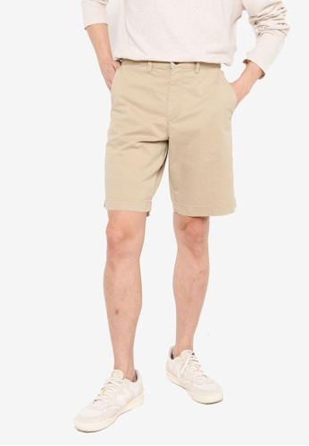 GAP green Solid Shorts 6DCFAAA791D119GS_1