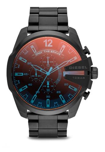 Diesel black Diesel Mega Chief Black Stainless Steel Watch DZ4318 DI095AC87NKYMY_1