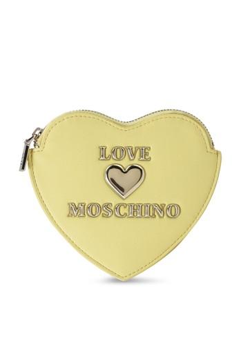 Love Moschino yellow Heart Coin Purse 5183BAC76875C7GS_1