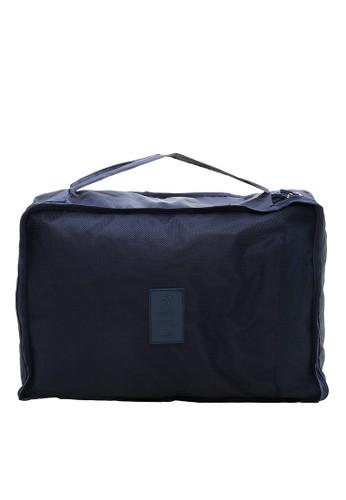 Hamlin navy Hamlin Erasre Tas Travel Bag in Bag Organizer 6 in 1 Waterproof Pouch Material Polyester ORIGINAL F0B3FAC39250BEGS_1