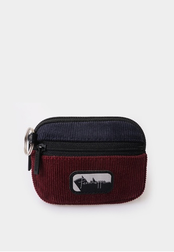 Penshoppe multi Coin Purse with Woven Label 8B203ACB119B20GS_1