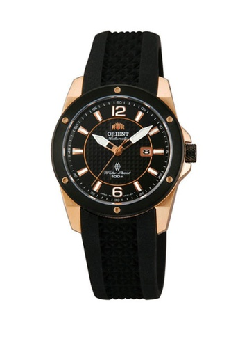 bf9f120f5 Orient black Orient Women Automatic ORCNR1H003B Rubber Watch  AD522AC76EF703GS_1