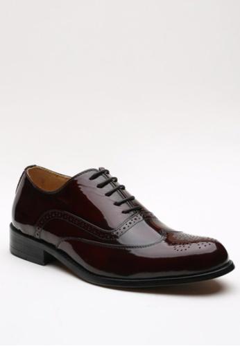 Kings Collection brown Clifton Classic Oxford Shoes KI877SH50HEZPH_1