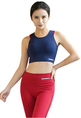 Trendyshop blue Quick-Drying Yoga Fitness Sports Bras 629B8US4256F85GS_1
