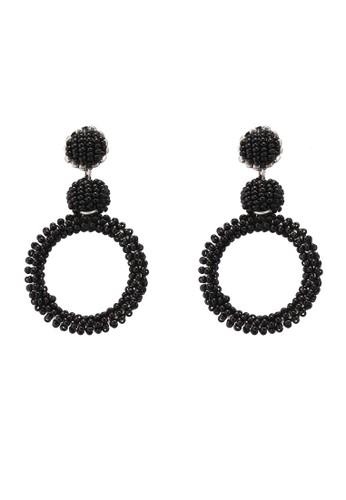 Pieces black Tegan Earrings Dc B226AAC3227A14GS_1