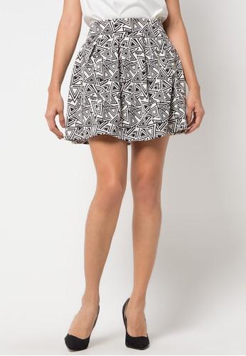 Raspberry white Willa Klok Skirt RA572AA72YQPID_1