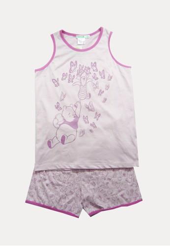 Bossini pink Bossini Kids Girl Set Atasan dan Bawahan Pink (24350105026) F4B3EKAA913356GS_1