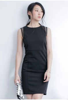 Pivot Grid Sultry Dress