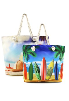 Beach Tote Bag 2 in 1