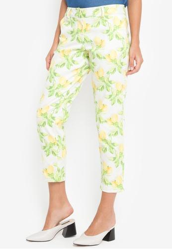 Chelsea yellow Lolita Printed Pants 08502AA0EB0F13GS_1