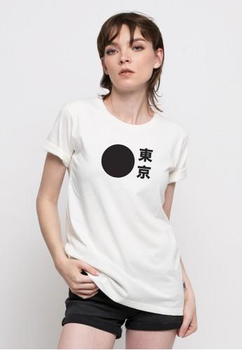 Monstore white Tokyo BOLD Tee MO393AA28OSLID_1
