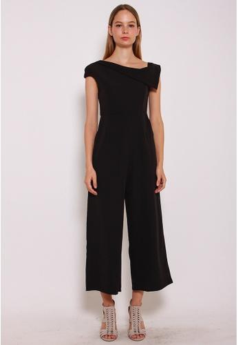 Leline Style black Laveah Romper LE802AA0GKV1SG_1