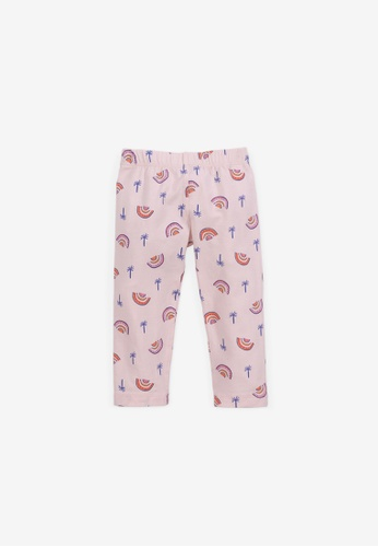 Gingersnaps multi Baby Girls Rainbow Print Leggings 0333AKAB9BD830GS_1