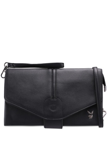 Playboy black Playboy Clutch/Sling Bag 93DE1ACA7DD022GS_1