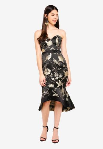 f660fe6f60a6b Buy Lipsy Oriental Jacquard Bandeau Dress