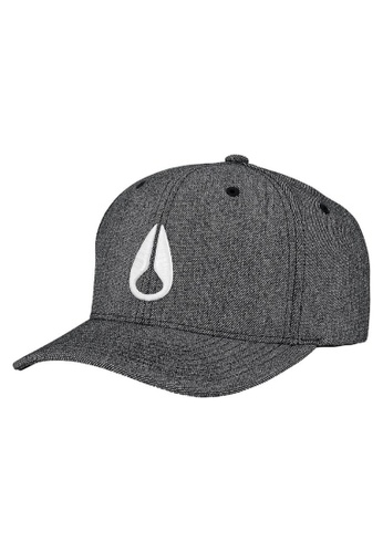 hot sales 93f4b 253a0 Nixon white Nixon Deep Down Athletic Textured Hat C2270486-24  F093DACDF34E75GS 1