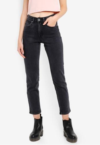 f059bf328 Buy Factorie High Rise Straight Leg Jeans 2 Online on ZALORA Singapore
