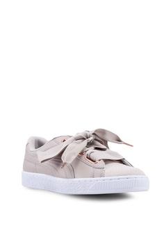 228a82173dfa PUMA Basket Heart Woven Rose Women s Sneakers S  149.00. Sizes 3 5 6 7