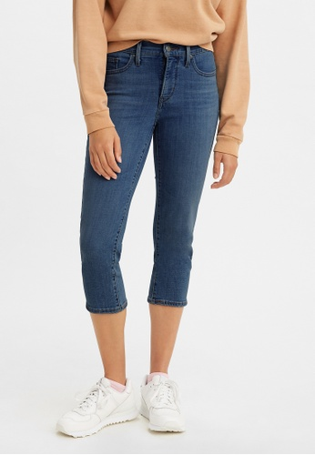 Levi's blue Levi's® Women's 311 Shaping Skinny Capri Jeans A0086-0004 2DEADAA76AE98DGS_1