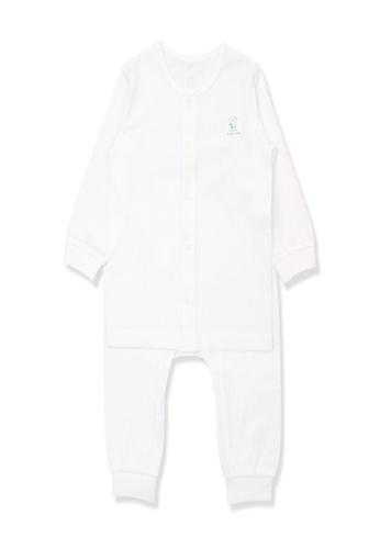 Organic mom white Organic Cotton Paul Koala Long Sleeves Pjs 1BF35KABC03CCCGS_1