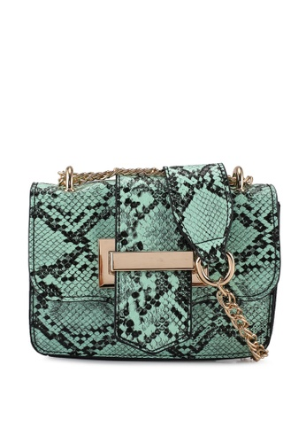 ONLY blue Evy Pop Snake Crossover Bag 90165ACB585C70GS_1