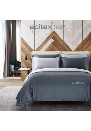 Epitex Epitex MJ3020-6 1600TC Micro Modal Jacquard Bedset (w quilt cover) 33D01HL6AE4D92GS_1