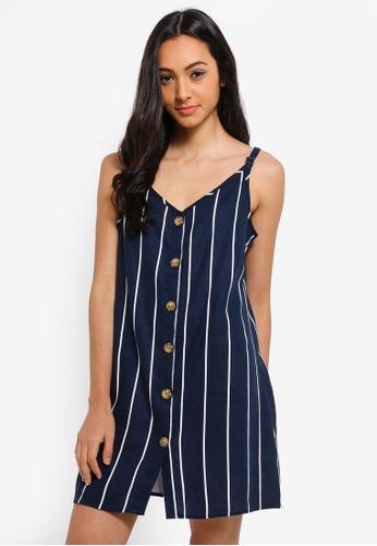 Cotton On blue Woven Margot Slip Dress 1F765AAB71FE26GS_1