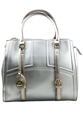 Kimbel International silver HGZ27514 Handbag with Sling KI262AC0JCBLPH_1