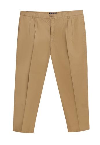 BGM POLO beige Chino Long Pants BG646AA0S0L3MY_1