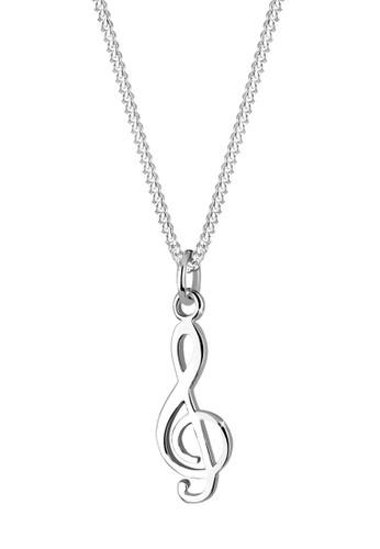 音esprit台灣官網符 925 純銀項鍊, 飾品配件, 項鍊